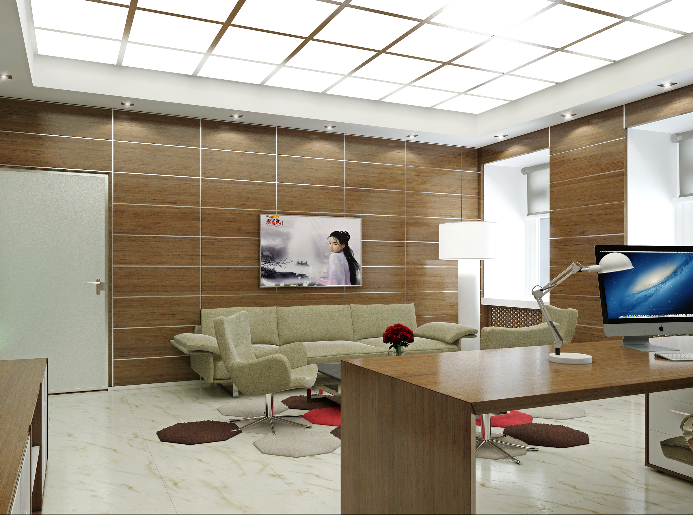 Japanesestyle office  7