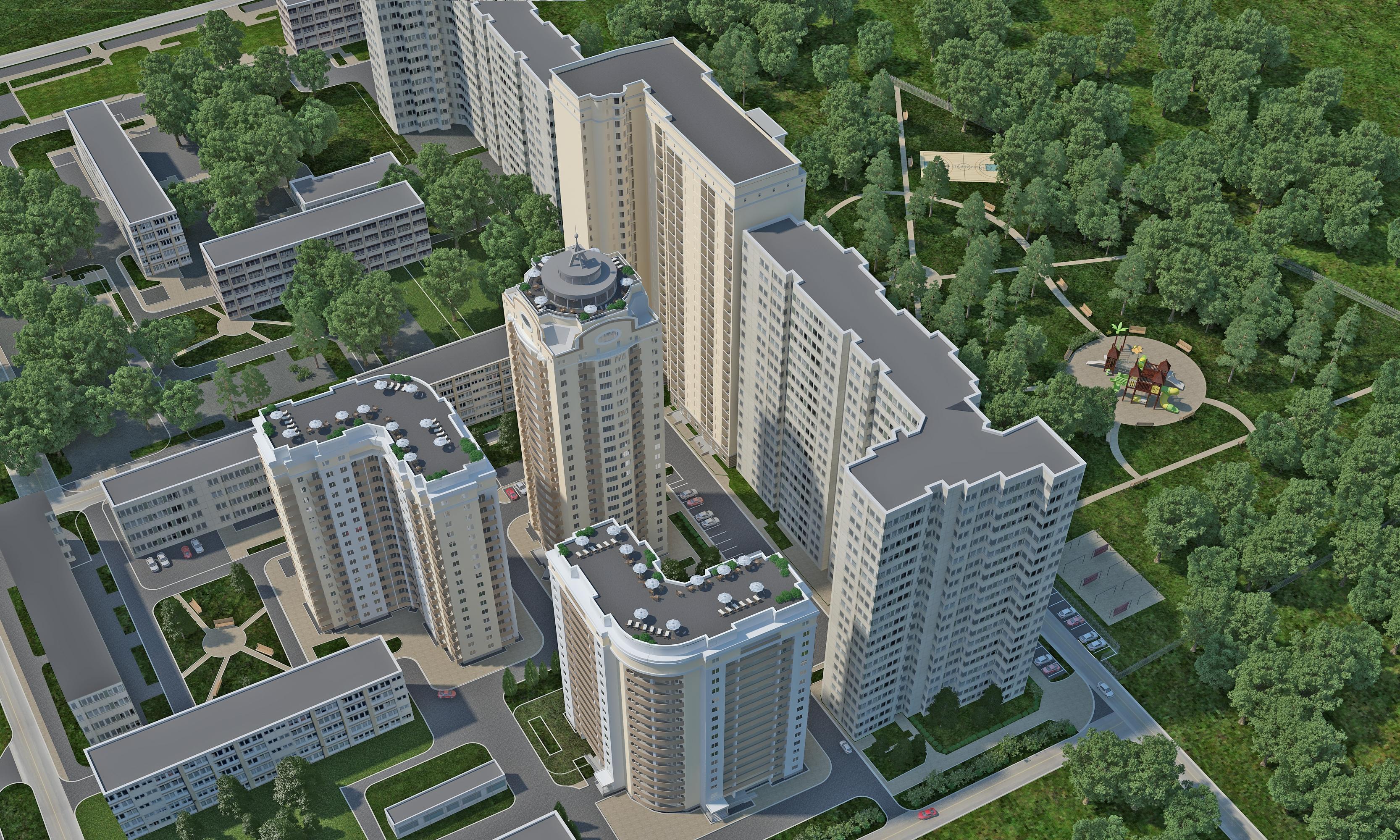 Жилой комплекс Сосновый бор, Киев
