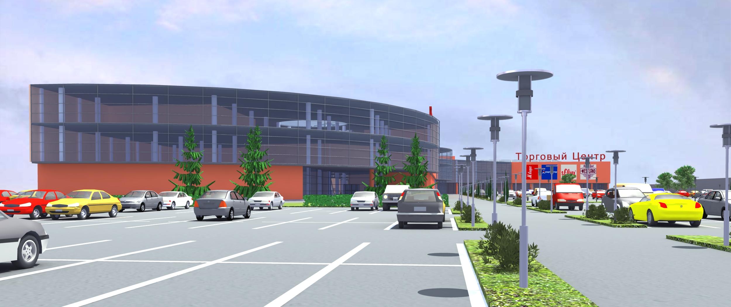 Архитектура торгового центра