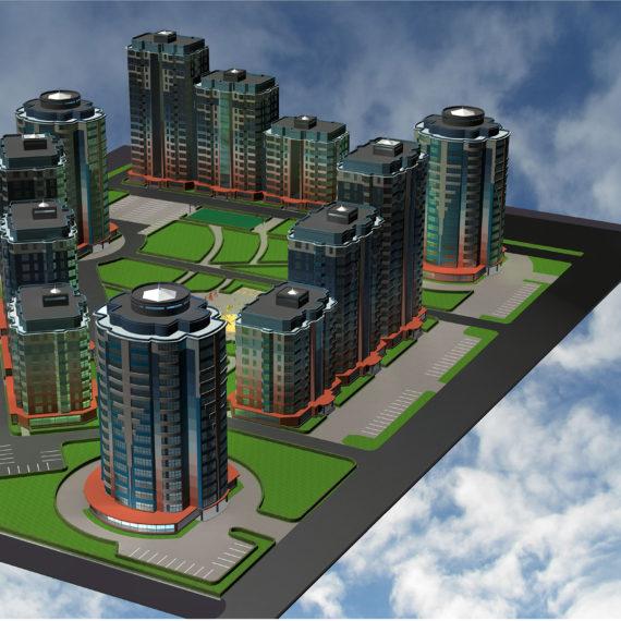 Проект жилого комплекса
