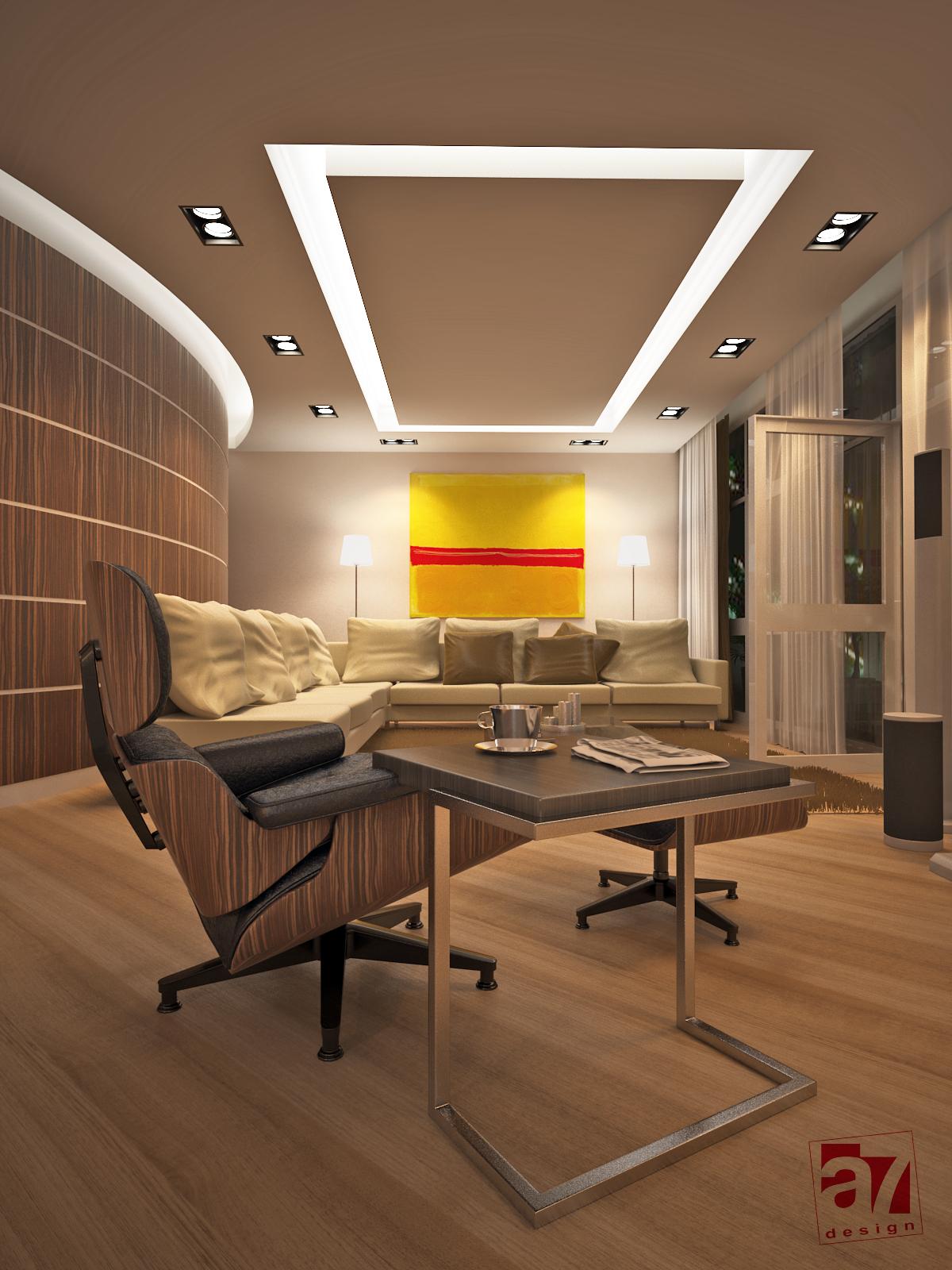 Дизайн интерьера апартаментов в клубном доме