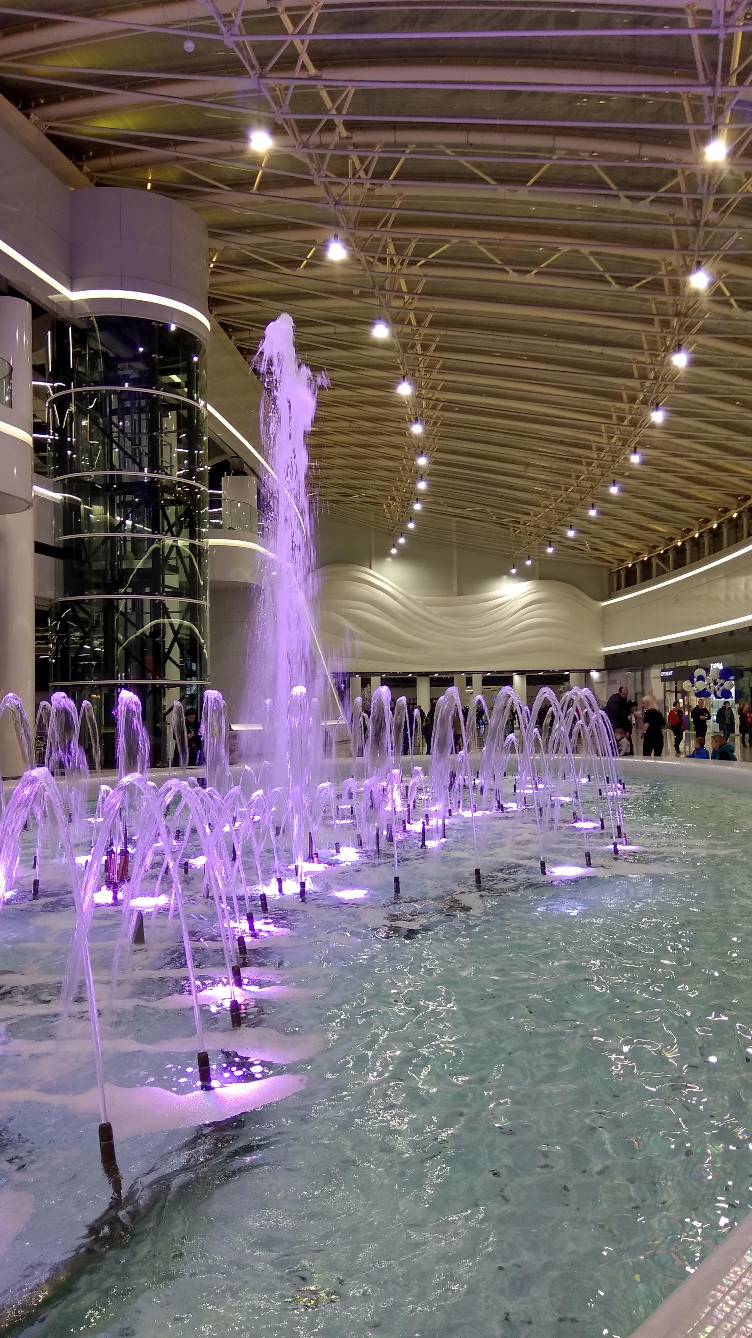 Дизайн интерьеров торгового центра Lavina Mall