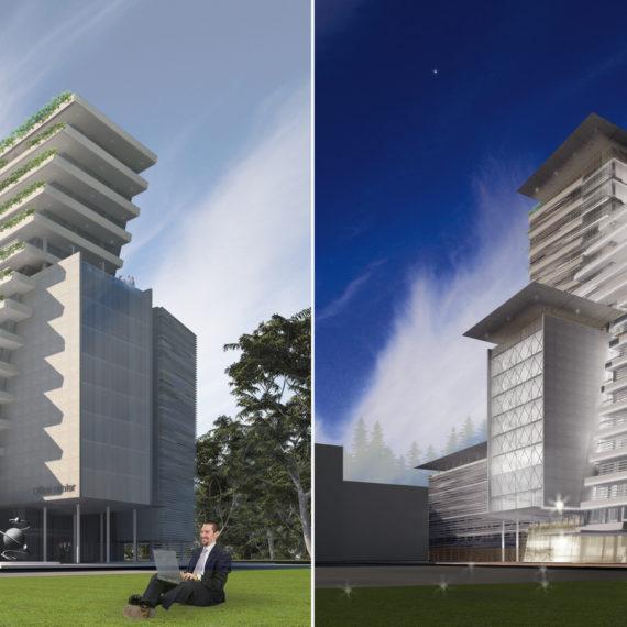 Проект офисного центра по ул. Полевая