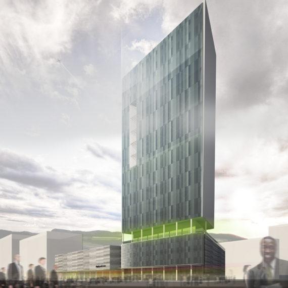 Проект офисного центра по ул. Вернадского